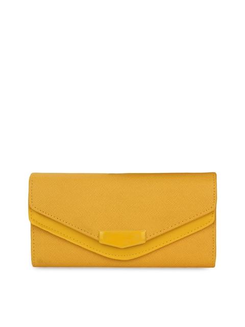 Alvaro Castagnino Women Yellow Wallet