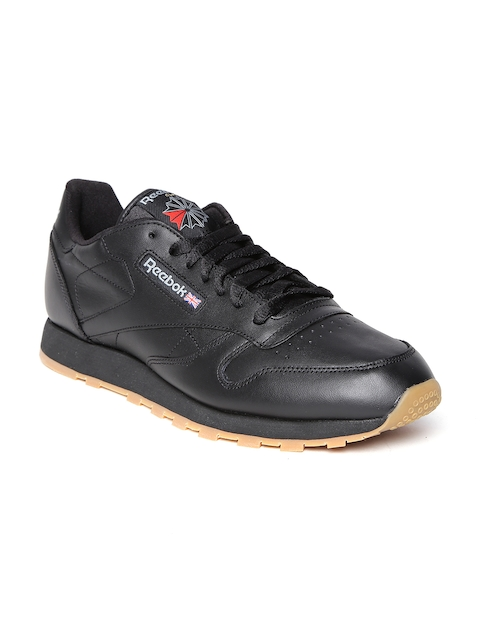 Reebok Classic Men Black CL Leather Casual Shoes
