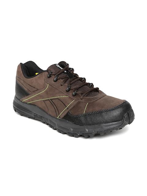 eea3964645c Reebok Men Brown Adventure Cruiser TRL Leather Outdoor Shoes