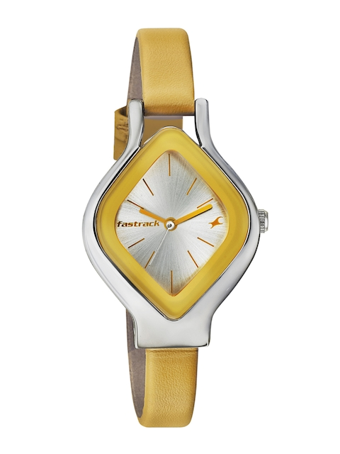 Fastrack Women Silver-Toned Dial Watch 6109SL01