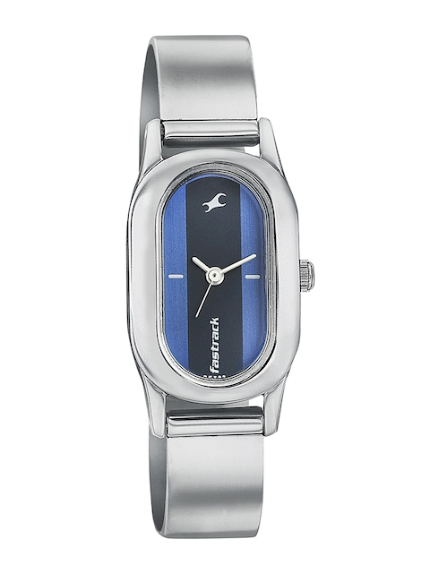 Fastrack Women Blue Dial Watch 6126SM02