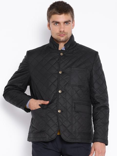 Park Avenue Black Quilted Jacket