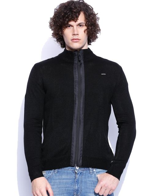 Wrangler Black Moto Cardigan
