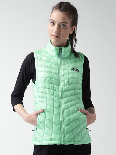 The North Face Green Thermoball AP Sleeveless Jacket