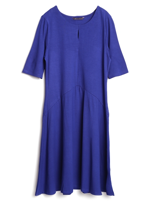 Marks & Spencer Blue A-Line Dress