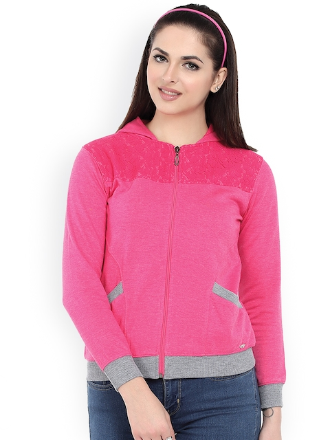 Miss Grace Pink Hooded Sweatshirt
