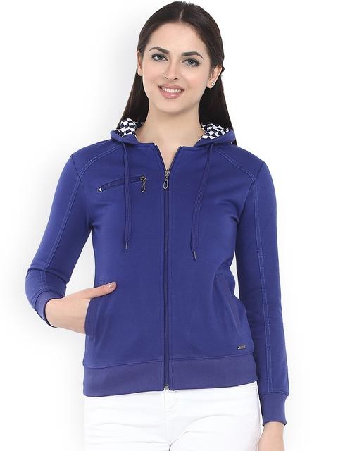 Miss Grace Blue Hooded Sweatshirt