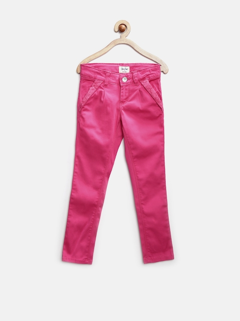 Gini & Jony Girls Pink Trousers