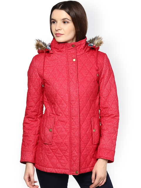 Gipsy Red Quilted Jacket