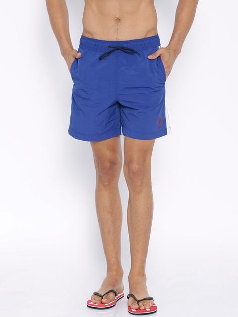 U.S. Polo Assn. Blue Swim Shorts
