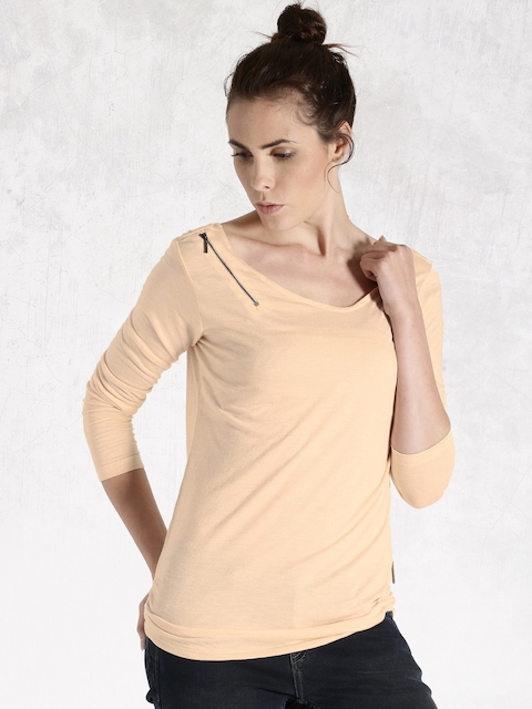 Roadster Cream-Coloured T-shirt