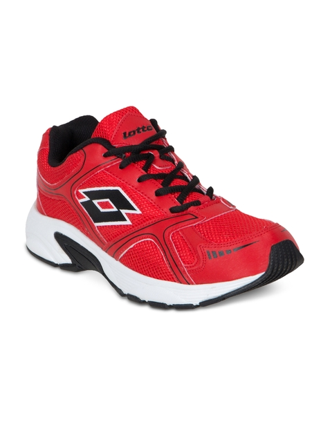 Lotto Men Red Running Shoes