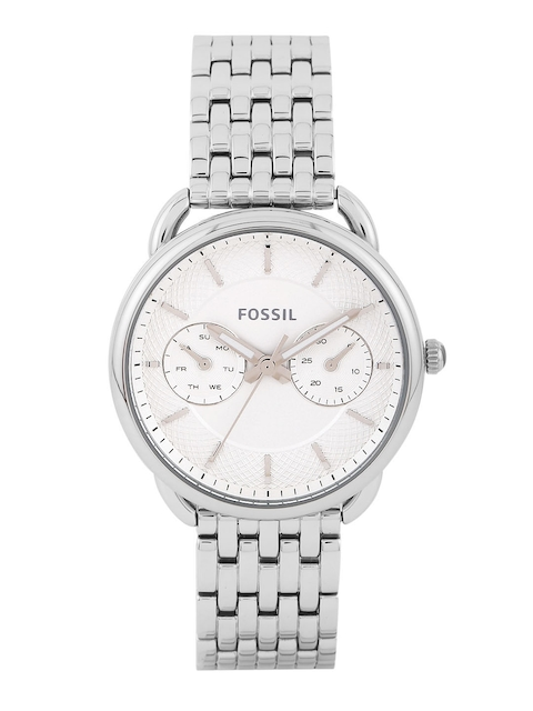Fossil Women Off-White Multifunction Dial Watch ES3712I