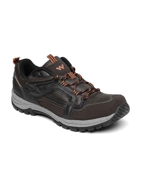 Wildcraft Men Brown Low Ankle EO Trekking Shoes