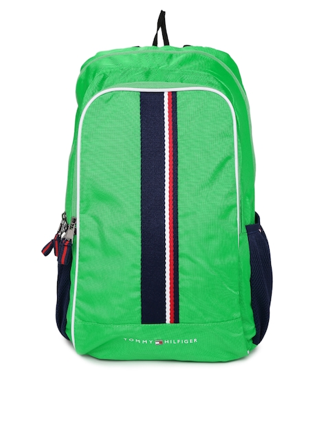 Tommy Hilfiger Unisex Green Backpack