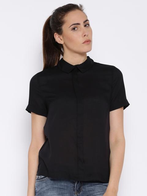 Lee Black Casual Shirt