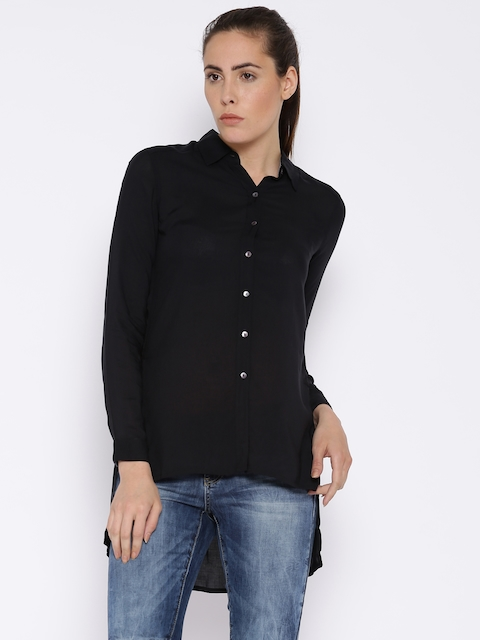 Lee Black Casual Shirt