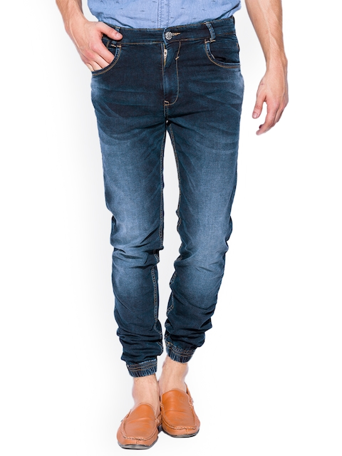 Mufti Blue Slim Jogger Jeans