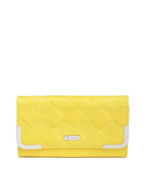 Lavie Women Yellow Ashley Wallet