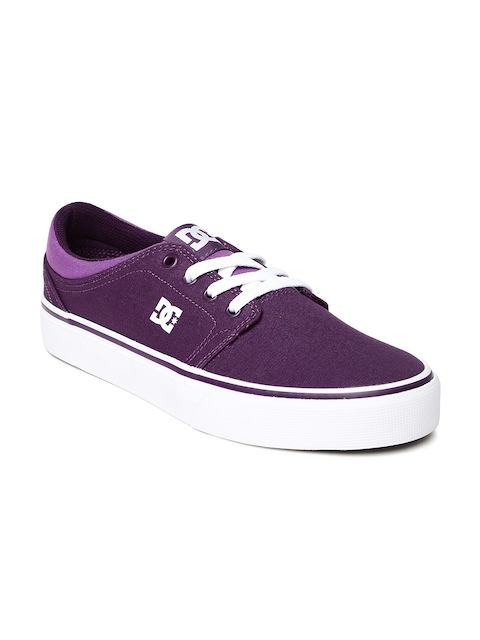 DC Women Purple Trase TX Casual Shoes