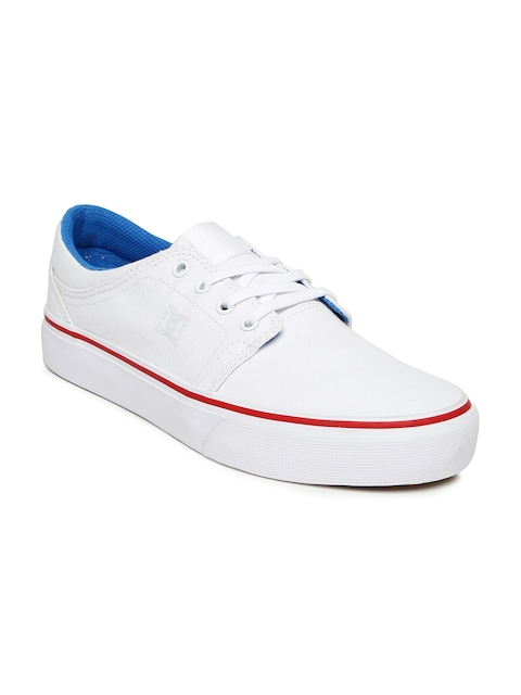 DC Women White Trase Casual Shoes