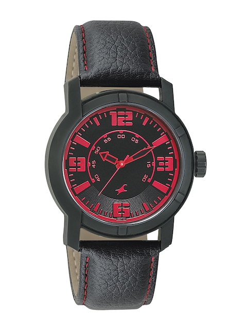 Fastrack Men Black Dial Watch 3021NL01