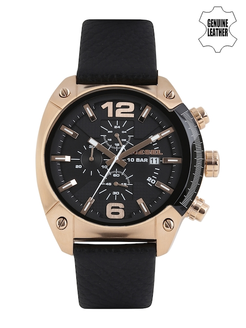 DIESEL Men Black Dial Chronograph Watch DZ4297I