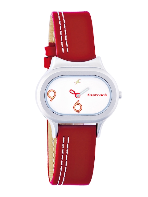Fastrack Women White Dial Watch NF2394SL01