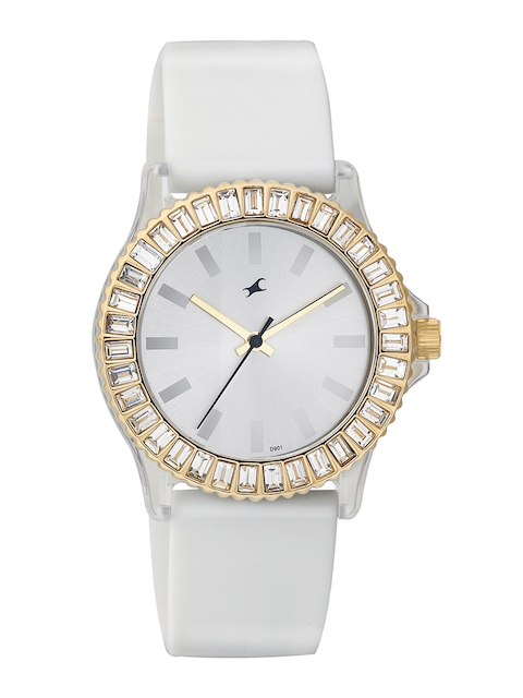 Fastrack Women Silver-Toned Dial Watch NF9827PP01J