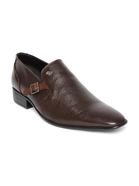 Alberto Torresi Men Brown Leather Formal Shoes
