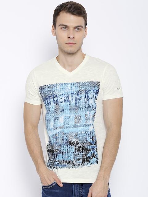 Killer Off-White Printed T-shirt