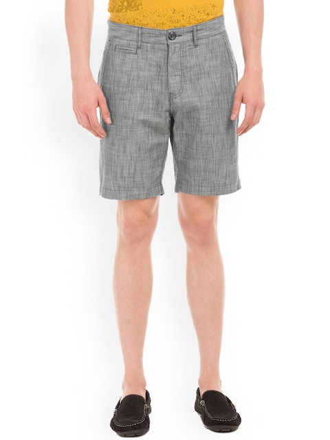 Breakbounce Grey Melange Street Easy Shorts
