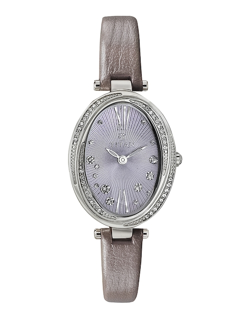 Titan Purple Embellished Analogue Women's Watch, 95025SL02