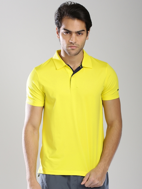 Tommy Hilfiger Yellow Polo T-shirt