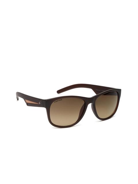 Fastrack Men Wayfarer Sunglasses P329BR1