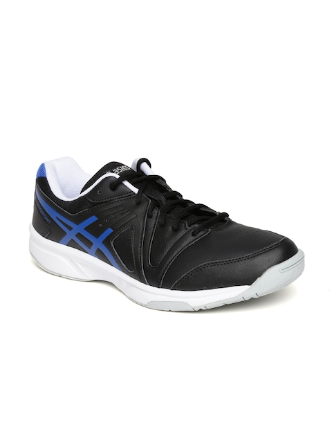 ASICS Men Black Gel-Gamepoint Tennis Shoes  available at myntra for Rs.2364