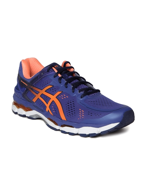 ASICS Men Blue Gel-Kayano 22 Running Shoes  available at myntra for Rs.7499