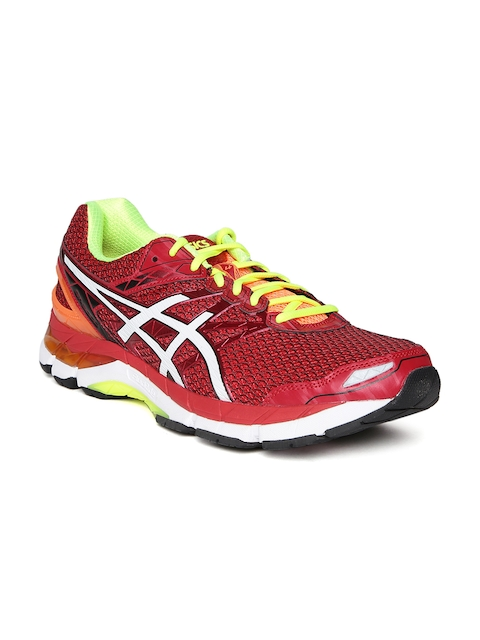 ASICS Men Red GT-3000 4 Running Shoes