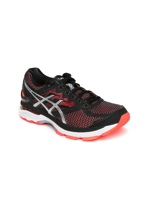 ASICS Women Black GT-2000 4 Running Shoes