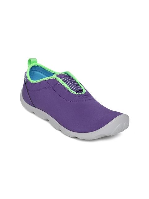Crocs Women Purple Slip-Ons