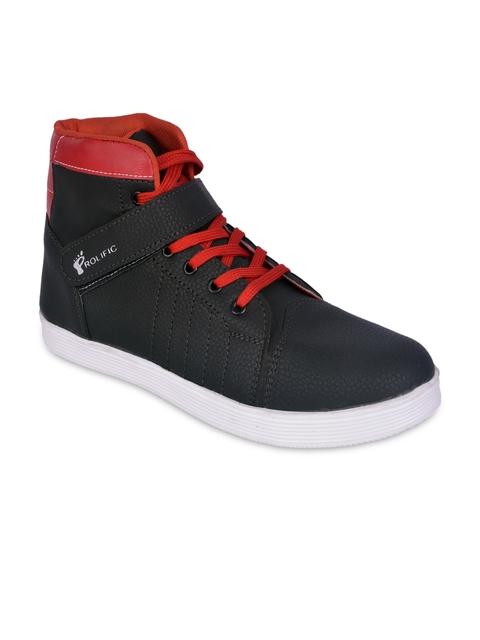 Prolific Men Black Casual Shoes