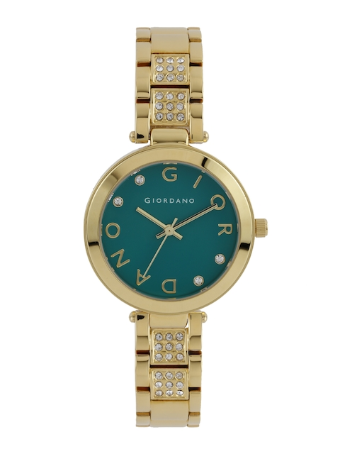 GIORDANO Women Green Dial Watch A2040-11