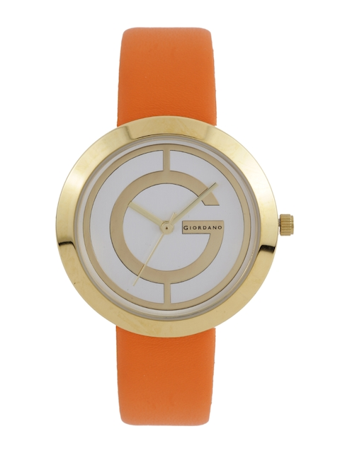 GIORDANO Women Silver-Toned Dial Watch A2042-03