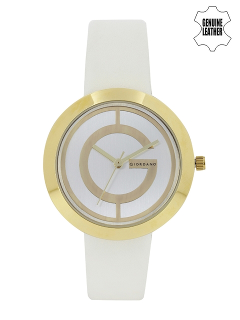 GIORDANO Women Silver-Toned Dial Watch A2042-04