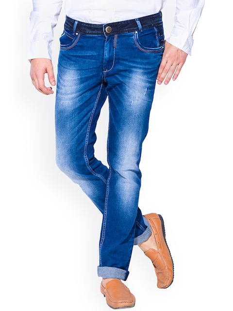 Mufti Blue Slim Stretchable Jeans