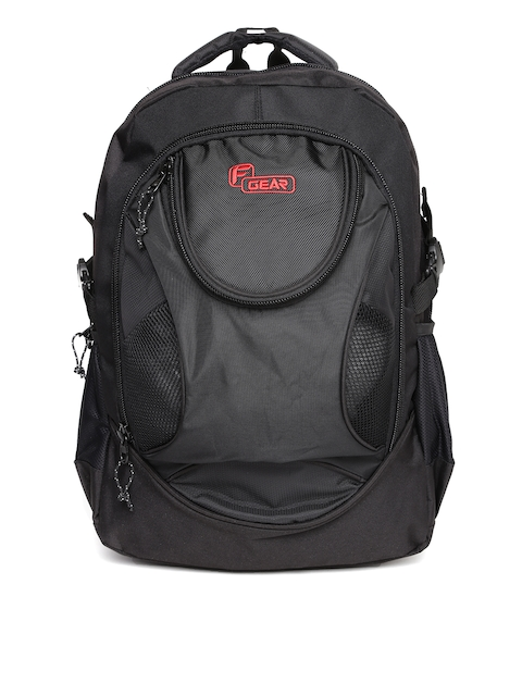 F Gear Unisex Black Sniper Lite V2 Backpack