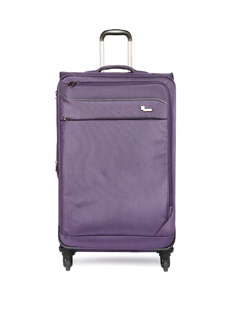 F Gear Unisex Purple Large Dollar Trolley Bag