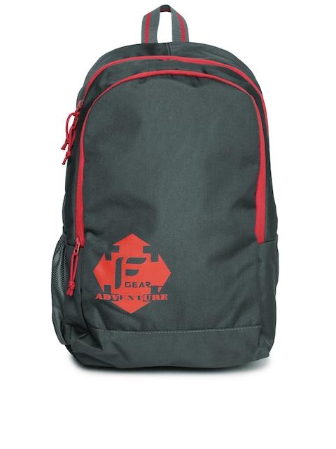 F Gear Unisex Grey Castle Backpack