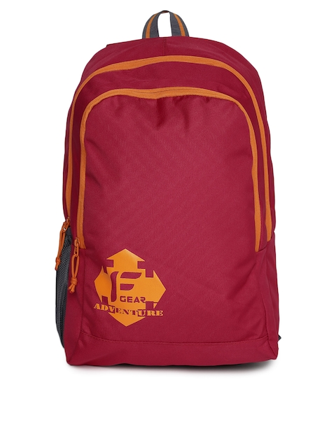 F Gear Unisex Red Castle Backpack