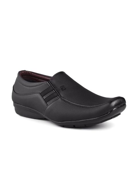 Fentacia Men Black Semiformal Shoes